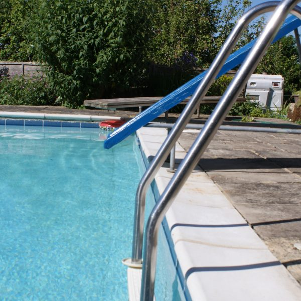 Outdoor Swimming Pool at Sussex Holiday Cottages