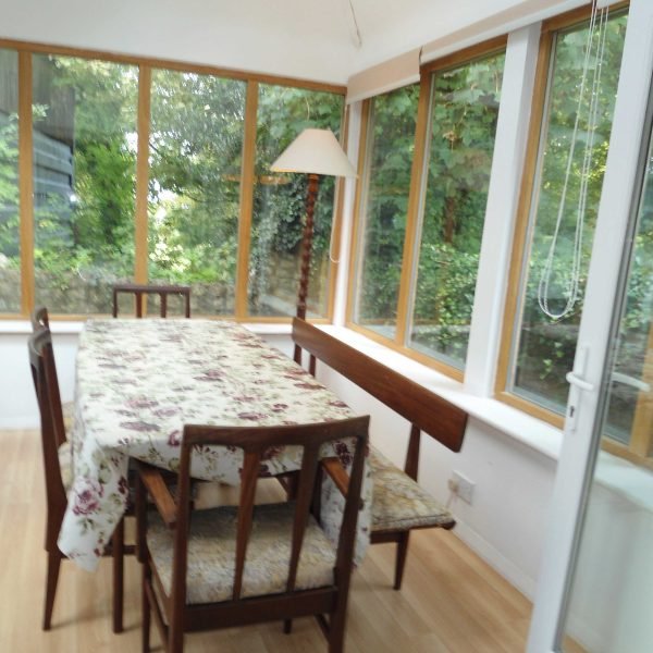 Conservatory in 4 Byre Cottages