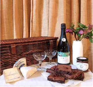 Valentine Hamper from the cafe at The Old Workshop, West Sussex
