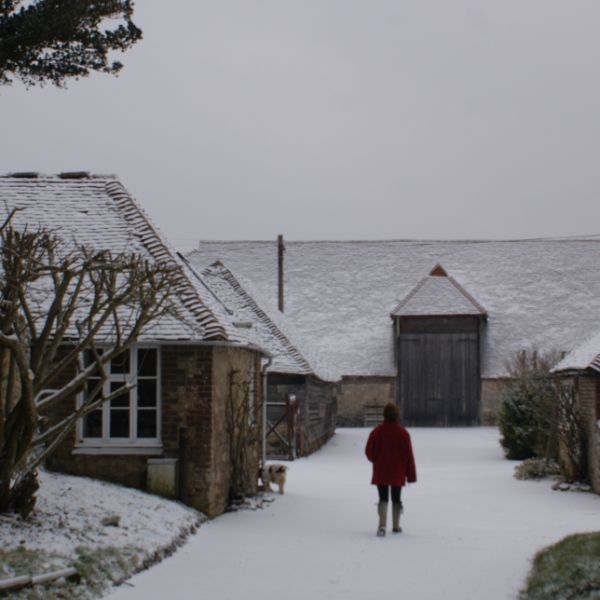 Snowy Byre Cottages on Sullington Manor Farm, West Sussex